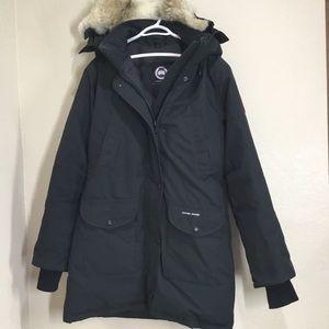 canada goose jacket fur trim